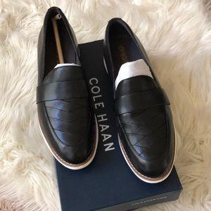 Cole Haan original grand loader black leather